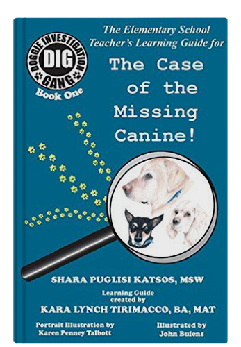 The Missing Canine - Teacher's manual by Shara Theresa Katsos